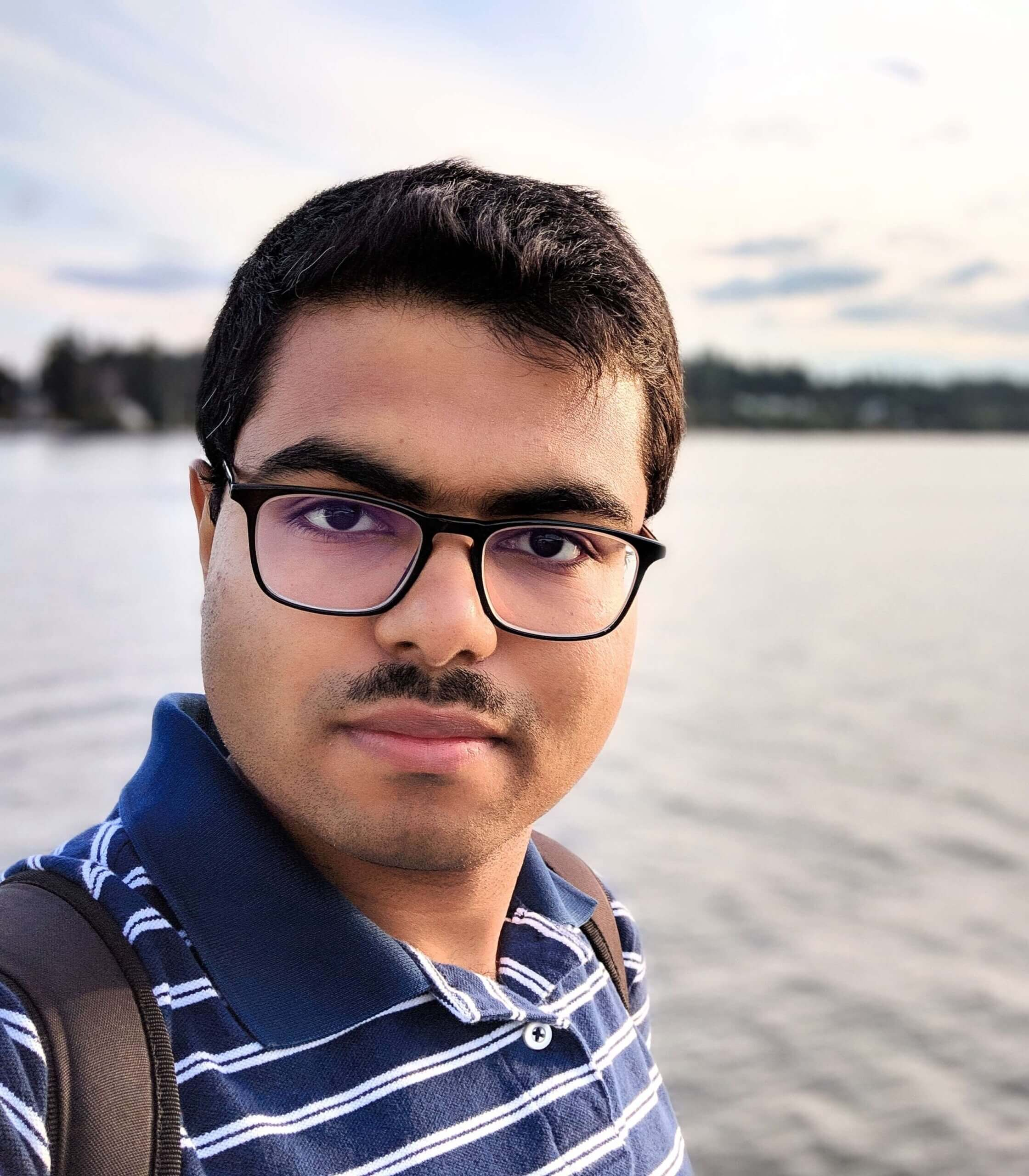 Selfie at the Bainbridge Island, Washington, USA
